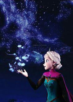 Frozen- Elsa a. my new woman crush and favorite Disney character. Frozen Disney, Film Disney, Art Disney, Frozen Movie, Elsa Frozen, Disney Love, Disney Magic, Frozen Party, Arendelle Frozen