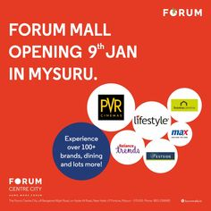 Things are about to get really good. Save the date! #nammamysuru #MaharajaofMalls #Openingsoon