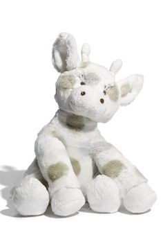 I think Baby needs this plush stuffed cow. It just might be Baby's favorite attachment...