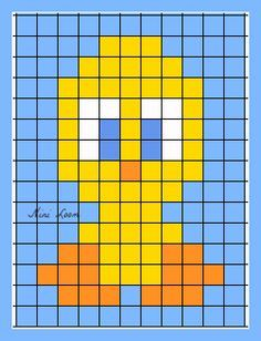 - picture for you Cross Stitch Bird, Cross Stitch Designs, Cross Stitching, Cross Stitch Patterns, Crochet Pixel, Crochet Cross, Loom Patterns, Beading Patterns, Safety Pin Crafts