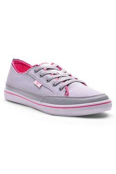 361 Degrees Admiration Vulcanized Lifestyle Shoes (Light Grey/Light Pink)