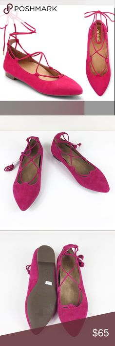 NWOB VIONIC LUCINDA LACE UP PINK FLATS 11 NWOB VIONIC LUCINDA LACE UP PINK FLATS ORTHAHEEL in size 11 Brand new no box, no flaws, orthaheel technology, perfect for plantar fasciitis, diabetic foot and waking long distances, full comfort! Make an offer! Vionic Shoes Flats & Loafers