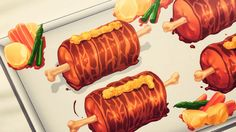 Ma Nuga meat with mustard sauce, GATE, Episode 13.