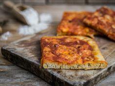 Pizza integrale con metodo Bonci - digeribilissima!