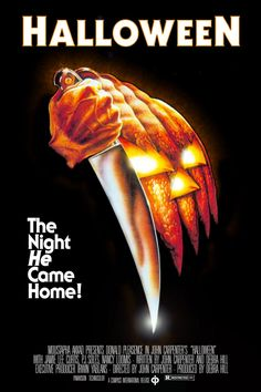"""Halloween - American slasher film, the first installment of the """"Halloween"""" franchise, 1978"""