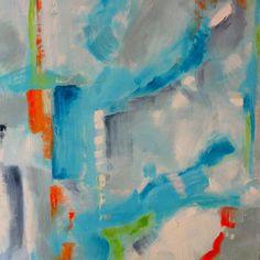 """#Sarah_Lytle. 30x40 oil on canvas. """"Cool Down"""" http://sarahlytleart@blogspot.com #artwork"""