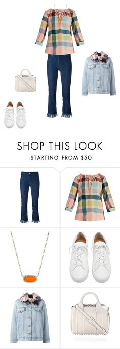 """Untitled #16580"" by explorer-14576312872 ❤ liked on Polyvore featuring 7 For All Mankind, ace & jig, Kendra Scott, Loeffler Randall and Alexander Wang"