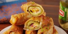 Best Pickle Egg Roll Recipe - How to Make Pickle Egg Rolls