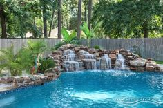 Image result for table rock waterfall swimming pool