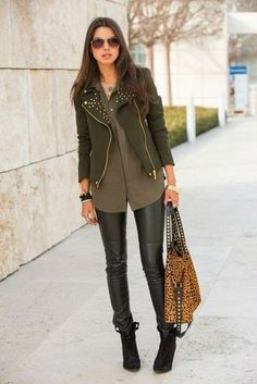 biker-jacket-button-down-blouse-leggings-ankle-boots-tote-bag-sunglasses-watch-large-5043.jpg (325×487)