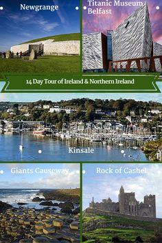 14 day Luxury Tour of Ireland & Northern Ireland Titanic Museum, Southern Ireland, Grafton Street, Belfast, Day Tours, Dublin, Castle, Vacation, Explore