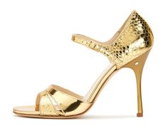 Sandalo DENISE Specchio oro. Tango shoes collection