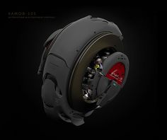 ka-105 by Michael Menzelincef, via Behance