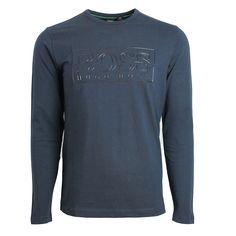 Hugo Boss Men/'s Tee With Reflective Chest logo Crew Neck Short Sleeve T-Shirt