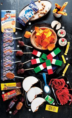 Mexican snack food