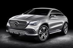 Mercedes Concept Coupe #car #concept #mercedes