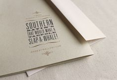 design work life » Student Work: Mallory Smith: Southern Sayin's
