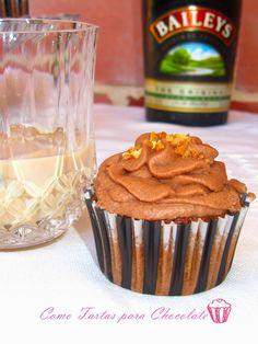 Cupcakes de Baileys: Especial Día del Padre