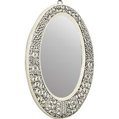 Traditional Oval Wall Mirror