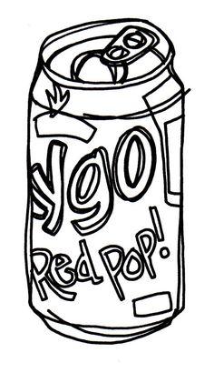 Red Pop!, by Jason Polan