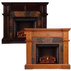 Southern Enterprises Cartwright Electric Fireplace - BedBathandBeyond.com