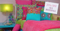 Childrens bedding, Kids bedroom furniture, Teen room decor, Tween bedding - Sweet and Sour Kids