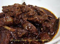 Pada kebanyakan jenis daging, baik kambing atau kerbau mempunyai tekstur yang liat dan mersik, dan terutama di daging kerbau