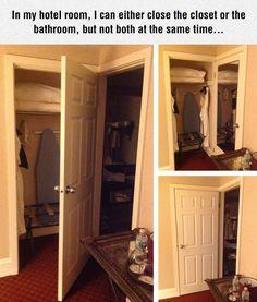 When one door closes, another door opens.When you can only afford one door lmfao