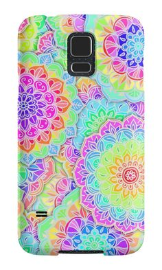 """""""Psychedelic Summer"""" Samsung Galaxy Cases & Skins by micklyn 