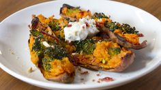 Healthy Winter Comfort Food: Loaded Sweet Potatoes
