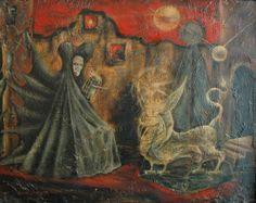 Leonora Carrington (1917~2011, English-born Mexican artist, surrealist painter, and novelist)