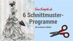 Schnittmuster-Programme - SewSimple.de