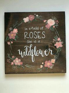 Baby Nursery Ideas For Girl, Baby Gurl Nursery, Diy Girl Nursery Decor, Nursery Crafts, Rose Nursery, Floral Nursery, Nursery Design, Nursery Room, My Baby Girl