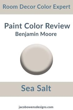 Discover recipes, home ideas, style inspiration and other ideas to try. Benjamin Moore Sea Salt, Benjamin Moore Paint, Benjamin Moore Colors, Salt Painting, Painting For Kids, Painting Tips, House Painting, Grey Paint Colors, Interior Paint Colors