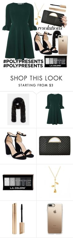 """#PolyPresents: New Year's Resolutions"" by tialovespugs ❤ liked on Polyvore featuring Missguided, Dorothy Perkins, Nasty Gal, Ashley Stewart, Casetify, contestentry and polyPresents"