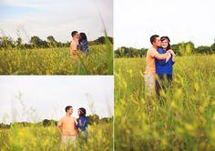 kansas yellow flower field engagement photos simple splendor photography