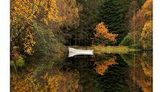 Lago Glencoe, en las tierras altas escocesas.