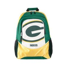 """16"""" - NFL Football - Green Bay Packers Large Backpack by NFL. $12.88. 16"""" - NFL Football - Green Bay Packers Backpack"""