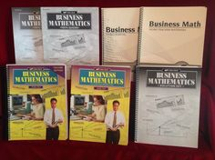 Abeka Business Mathematics Student Wkbk/Tcher/Solution/St. Test/Quiz & Key…