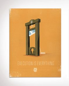 Execution is everything - Design studio and community Busy Building Things has created a print series for purpose-driven do-ers of the creative world.