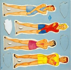 tv show* 1500 free paper dolls The International Paper Doll Society Arielle Gabriel artist ArtrA  Linked In QuanYin5 *