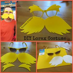Diy costumes 153826143506963373 - Our family went with a Dr. Seuss theme for Halloween this year. My husband's pick was the Lorax and my job was to come up with a DIY costume for him. I had come across a picture that linked t… Source by reneetessa Lorax Costume, Dr Seuss Costumes, Book Day Costumes, Seussical Costumes, Costume Ideas, Diy Costumes For Boys, Disney Costumes, Halloween Costumes, Dr. Seuss