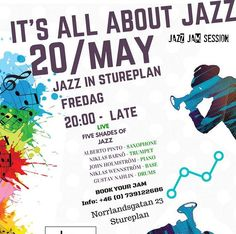 JAZZBOX- Stockholm Jazz night 2016-05-20 – Stockholm A Jazz-in-stureplan experiment! Get your jazz-fix and old time swanky jazz club vibes at the heart of Stureplan in Stockholm. This is an experimental place for good'ol fun, lively ambience, fun-loving clientele, and local Jazz-Junkies.