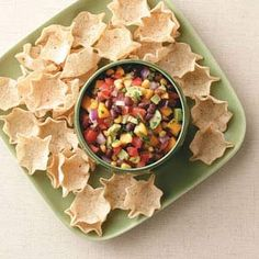 Fresh Summer Salsa Recipe from Taste of Home -- shared by Lindsay Anderson of Inman, Kansas
