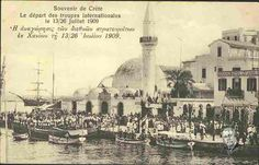 The departure of international troops from Chania 13/26 July, 1909.