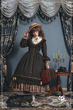 Fantastic Wind -The Florentine Traveller- Classic Lolita OP Dress