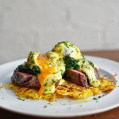 Steak & Eggs Breakfast at London restaurant Hubbard & Bell {restaurant review}