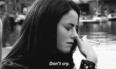 Sad gif,collection of GIFs that express sadness,best Sad Gifs,Animated GIFs that makes one feel sad.you can also enjoy our crying gif. Crying Tumblr, Crying Gif, Walt Disney Pictures, Aline Rodrigues, Iphone Wallpaper Landscape, Sad Quotes That Make You Cry, Scorpio Personality, Black And White Gif, Sad Alone