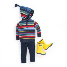 The perfect outfit for little explorers whatever the weather may bring. #outfit #kidsfashion #childrensfashion
