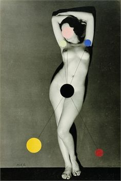 "Man Ray, ""Hier"" (Kiki de Montparnasse) silver gelatin and collage John Baldessari, Collages, Collage Art, Man Ray Photography, Fashion Photography, Photomontage, Kiki De Montparnasse, Francesca Woodman, Francis Picabia"